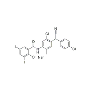 Closantel Sodium CAS 61438-64-0